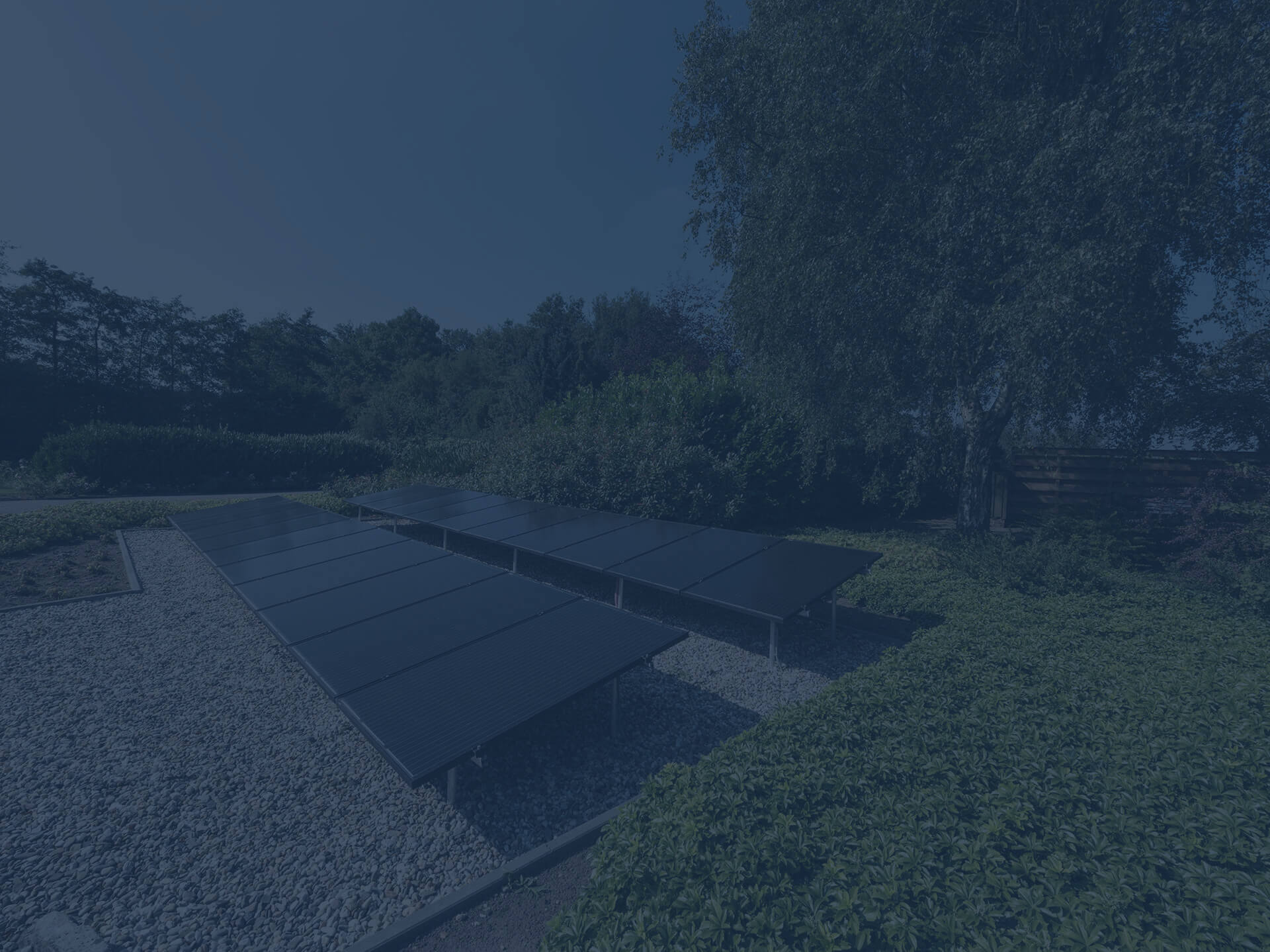 zonnepanelen tuin