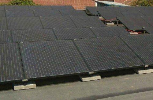 Zonnepanelen plat dak montage evo energie