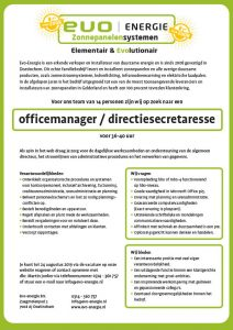 officemanager directiesecretaresse