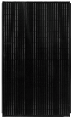 URE 310Wp Half-cut cell Full Black